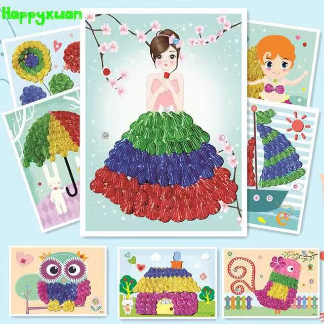 Ready Stock Diy S Art Crafts Kids Painting Kid
