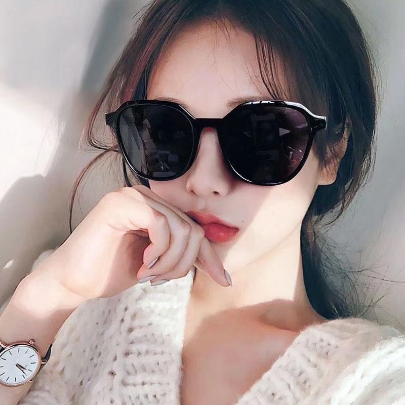 Ladies Fashion Sunglasses Square Large Frame Outdoor Trends Women Sunglasses