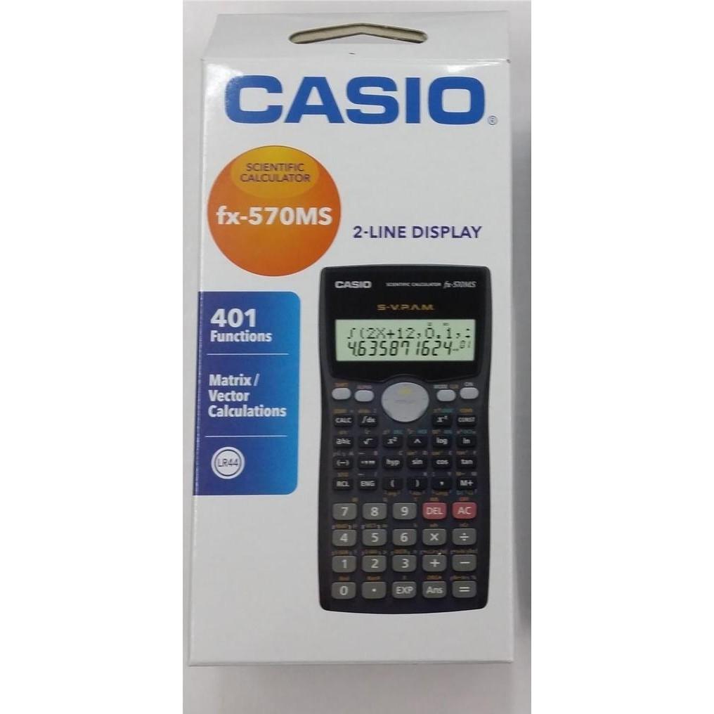 66cb537fe780 Casio Scientific calculator fx 570 ms
