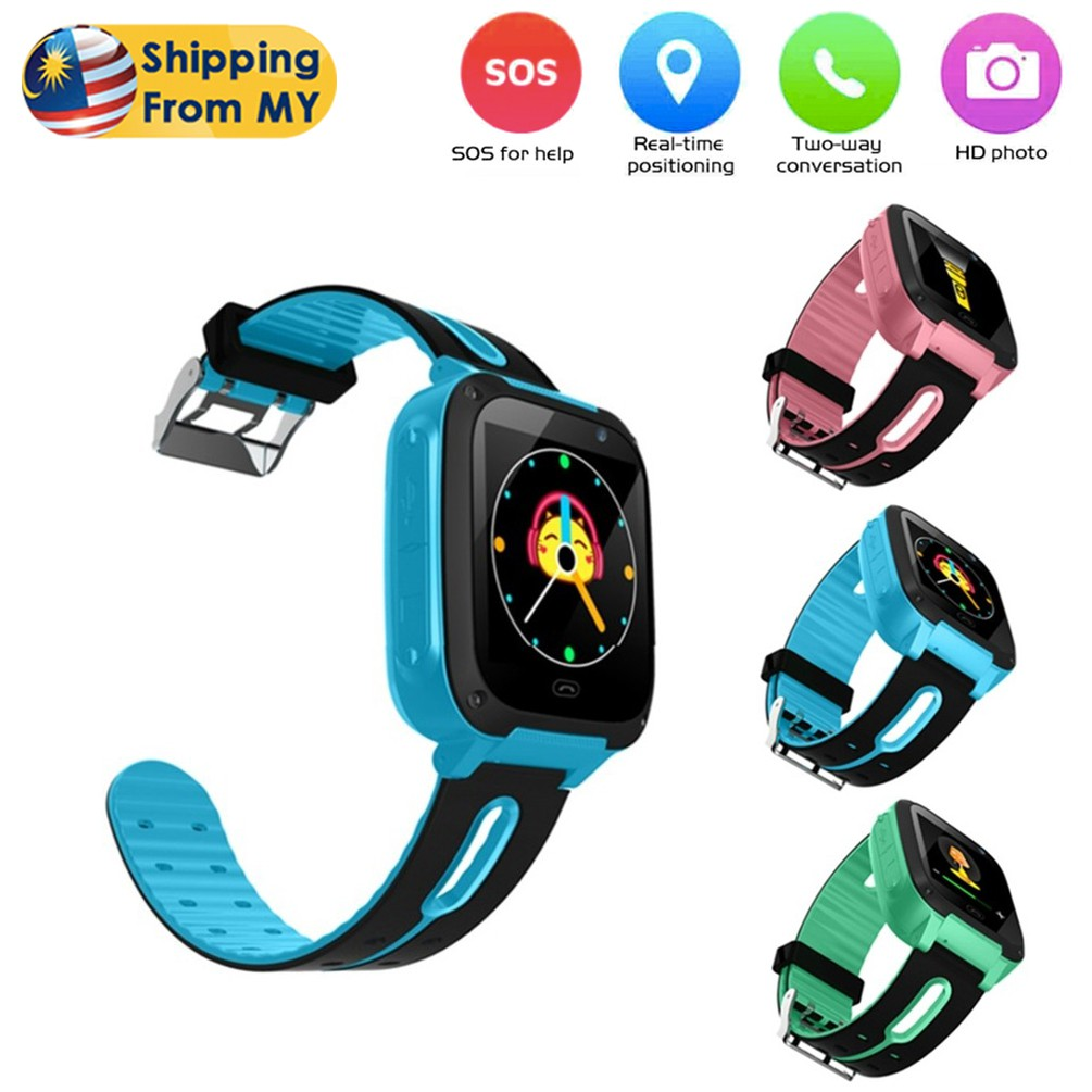 C4 Kids Smart Watch Accurate Location Position Camera Tracker SOS Anti-Lost  Children Baby Touch Screen Waterproof Watch