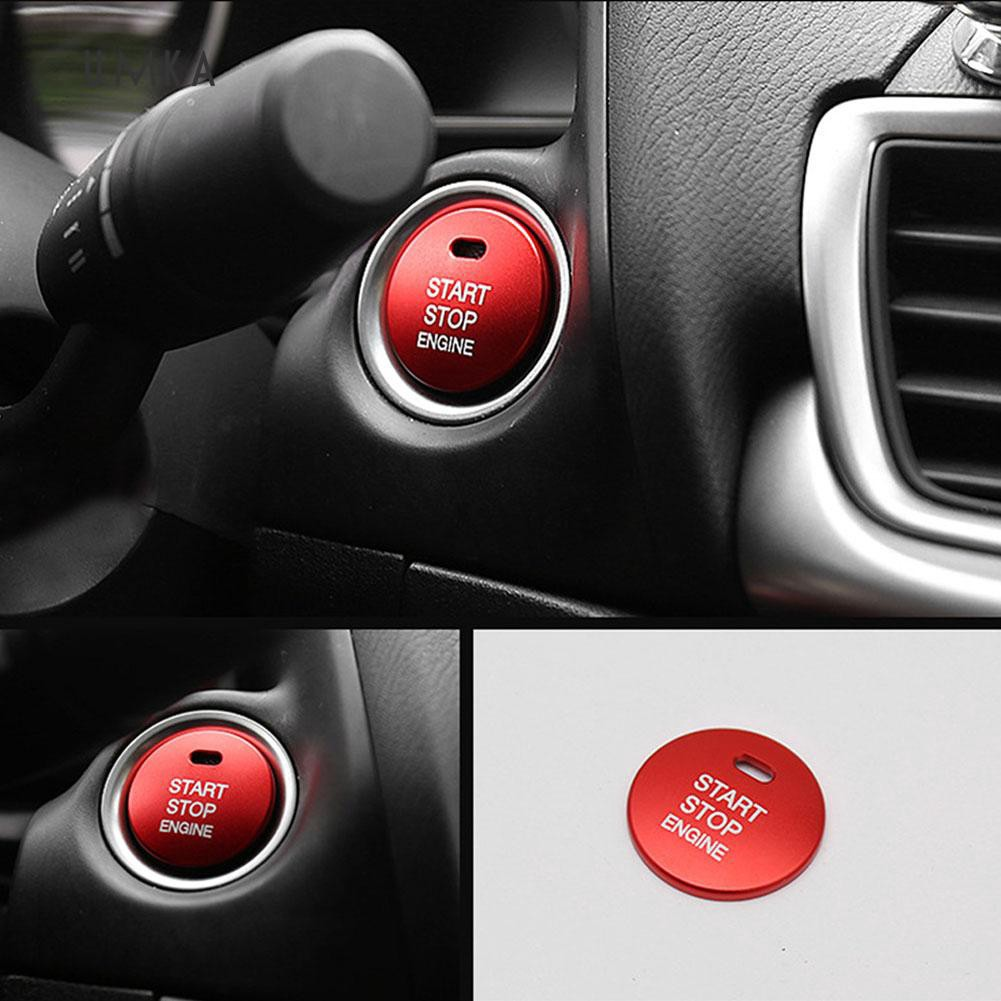 BMW RED Stop Start Engine BUTTON DECAL REPAIR 1 Stop//Start Decal