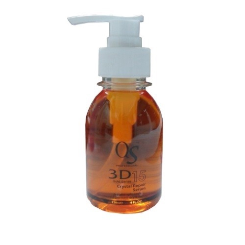 QS Crystal Repair Hair Serum With Organic Argan Oil 120ml