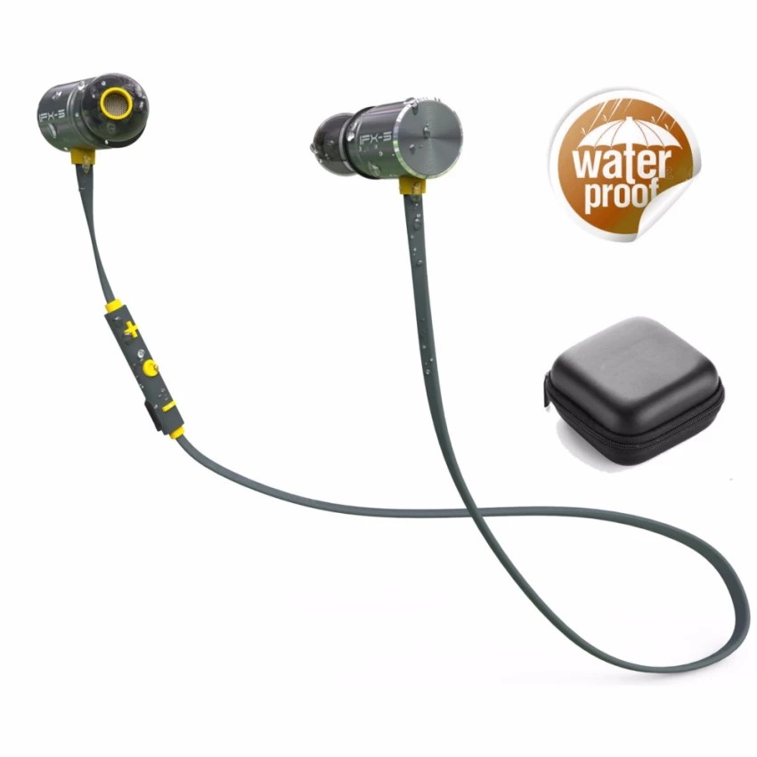 5f9bf4c8c3f7e9 ProductImage. ProductImage. Wireless Headphone IPX5 Waterproof Dual Battery  8 Hours Bluetooth Sport Earphone