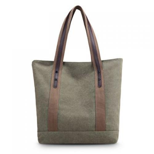 507a5fbc1603 Women Fashion Shoulder Bag Casual Cotton Canvas Female Travel Handbag