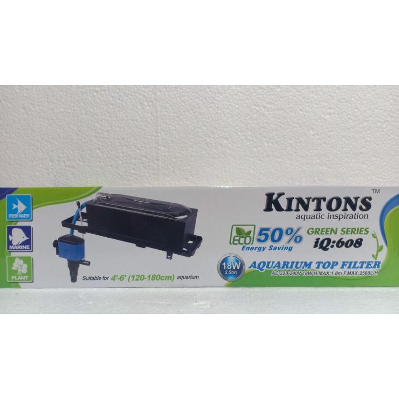 KINTONS Aquarium Top Filter - 50% Energy Saving, Cheap & Quality