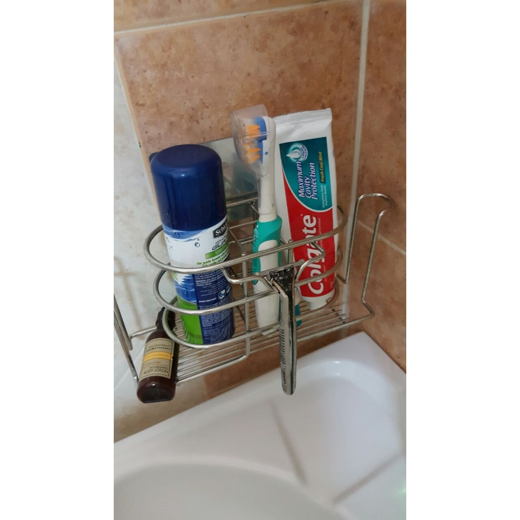 Non-drilling wall mounted Toothbrush Rack
