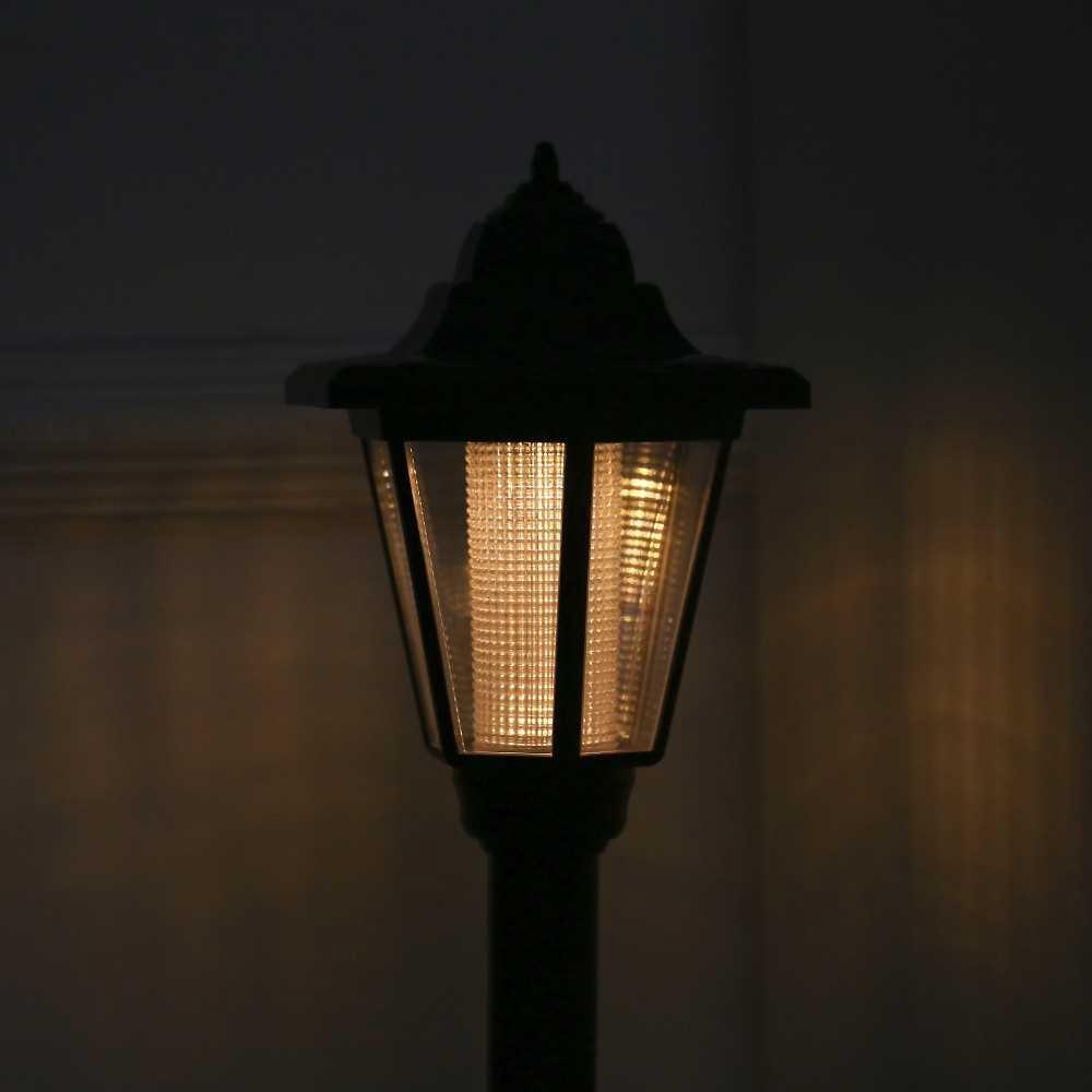 Lampu Taman Hiasan Pagar Hexagon Rechargeable Led Solar Powered Lawn Light Shopee Malaysia