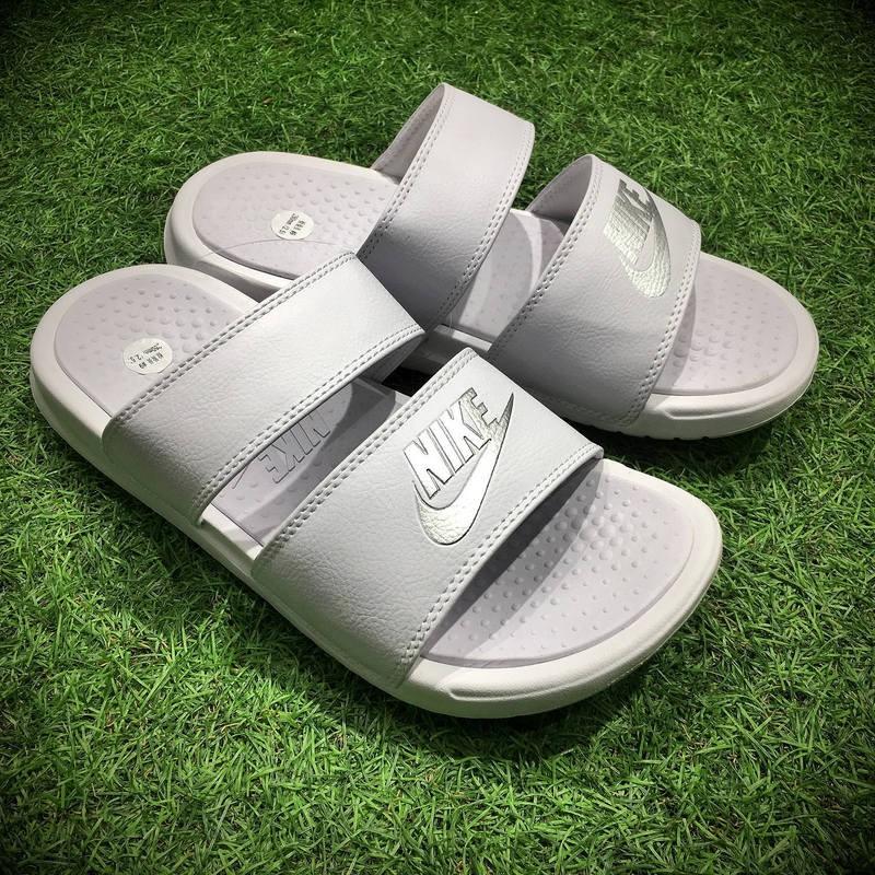 newest 7d741 6f79d Nike Benassi Swoosh Sandals Ready Stock Originals Sports Slippers Beach  Slippers