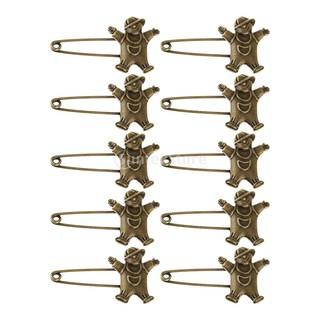 0b15b8c94 10 Bronze Retro Alloy DIY Pin Scarf Brooches Crafts Jewelry Boy-shaped |  Shopee Malaysia