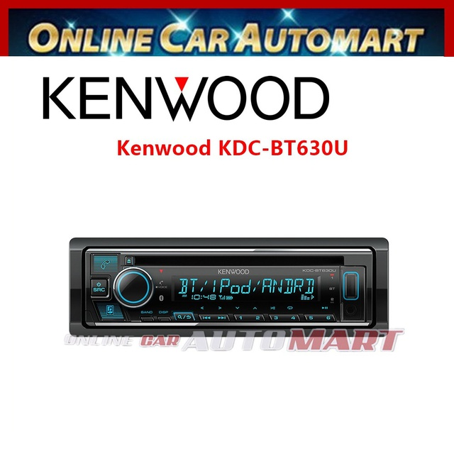 Kenwood KDC-BT320U Built-in Bluetooth®, USB / CD Receiver
