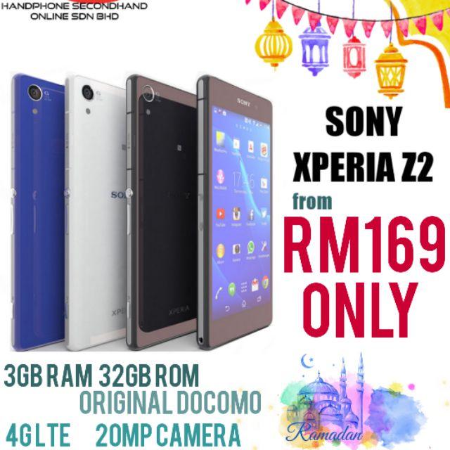 Sony Xperia Z2 (original Secondhand) 3GB RAM+ 32GB ROM (Docomo set)