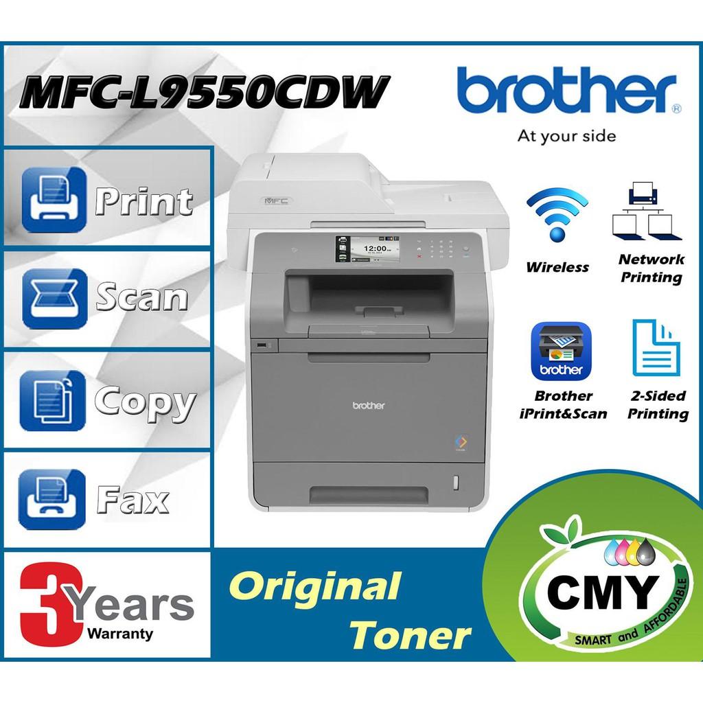 Brother MFC-L9550CDW Multi-Function Higher Print Volume Color Laser Printer