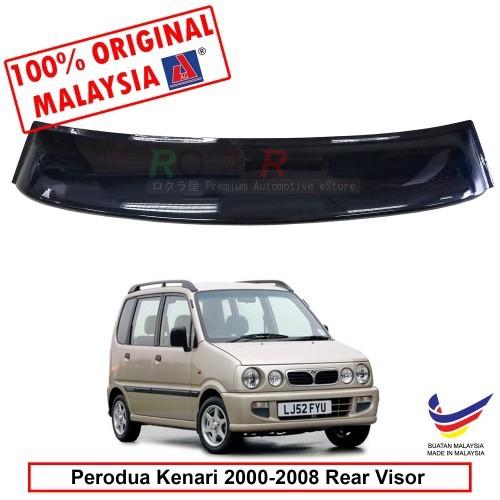 Perodua Kenari (2000-2008) AG Rear Wing Spoiler Visor (Big 20cm)