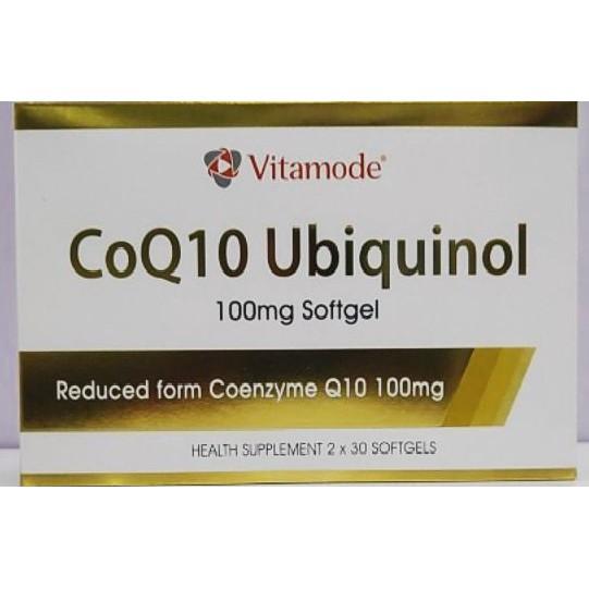 Vitamode Co-Q10 Ubiquinol 100mg 60\'s