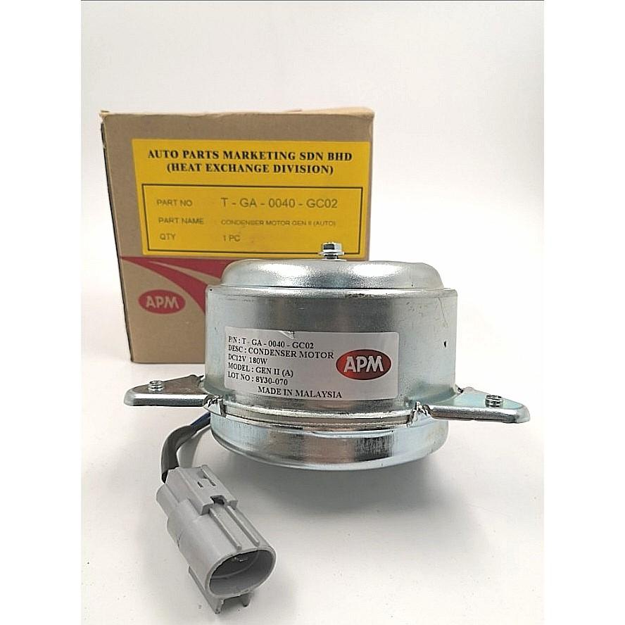 MORDAPG2AO-PROTON GEN2 APM RADIATOR MOTOR ( AUTO ) ( ORG ) 2 PIN ( 0040-GC02 )