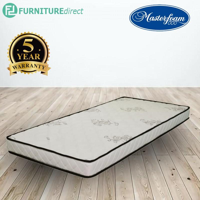 Furniture Direct MASTERFOAM sleep zee 8″ single and queen size foam mattress