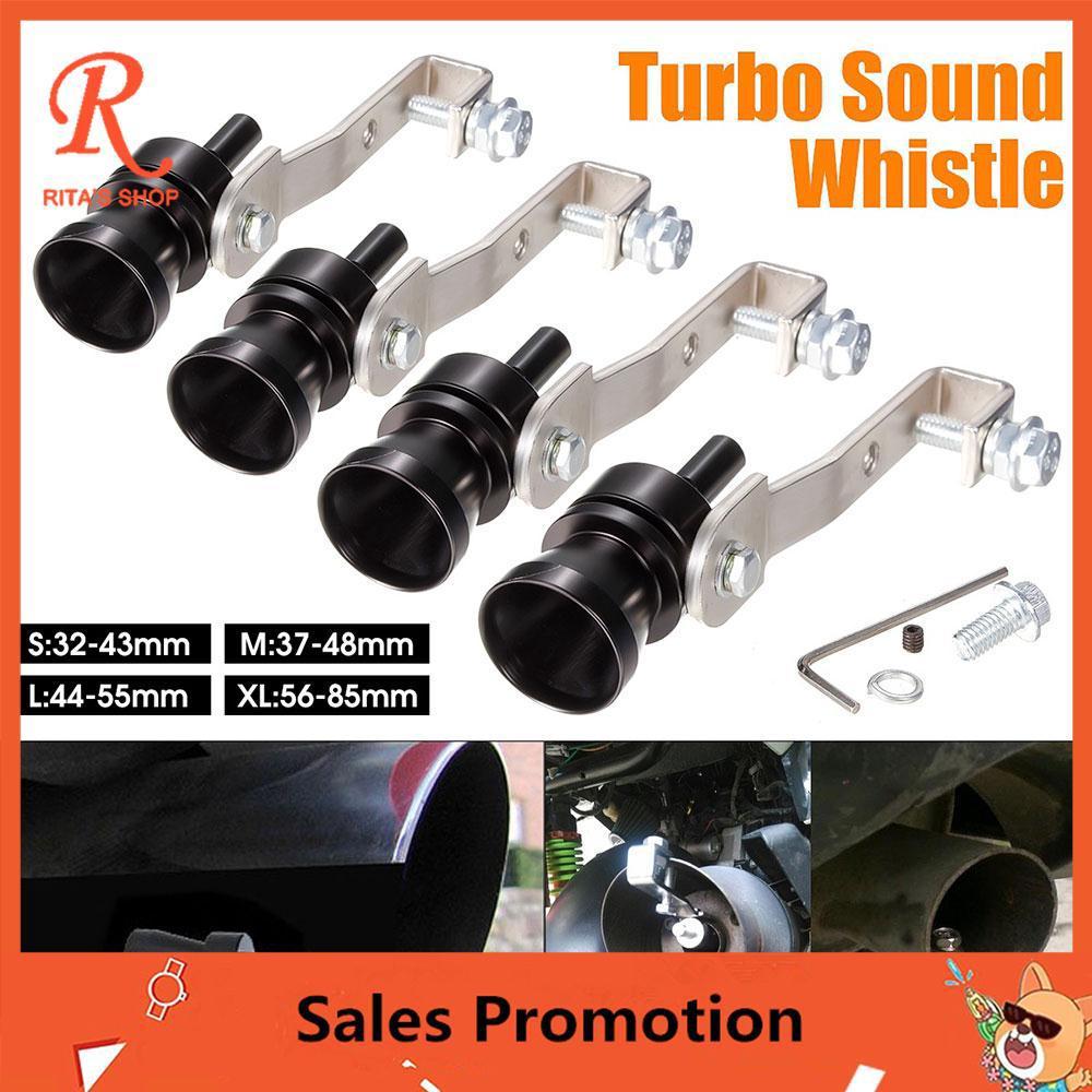 Sound Whistle Turbo Whistle Pipe Whistle Universal Black