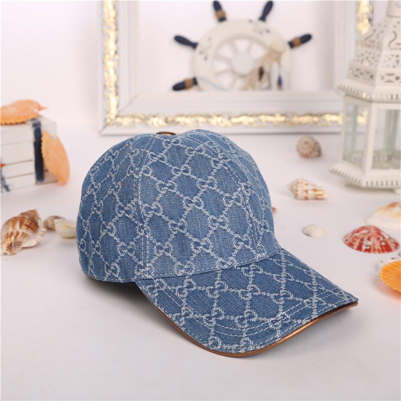 5dd15b9b9 GUCCI Fashion men's and women's canvas baseball Cap sun visor cap 125