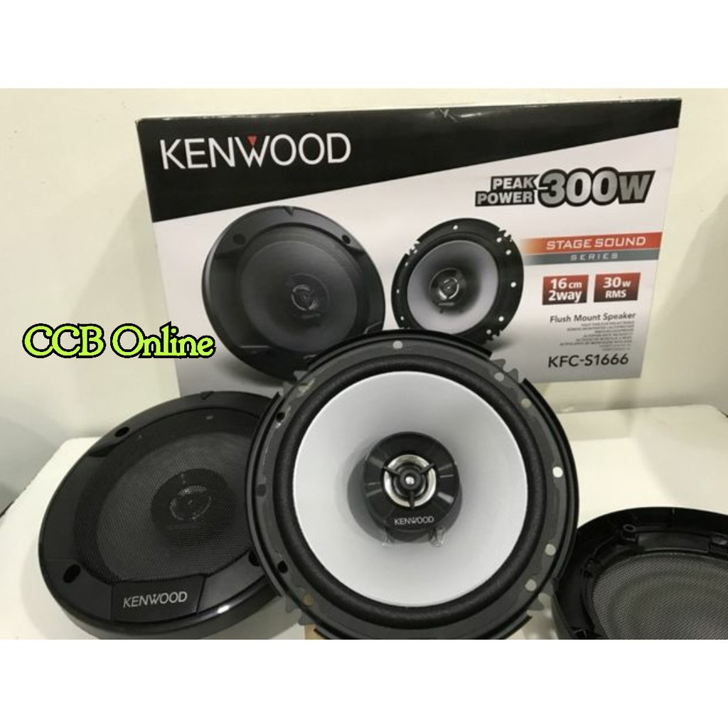Pioneer Ts G1620f 65 2 Way Coaxial Car Speakers Max 300w Rms 40w Speaker F1634r 2way At 4 Ohm Shopee Malaysia