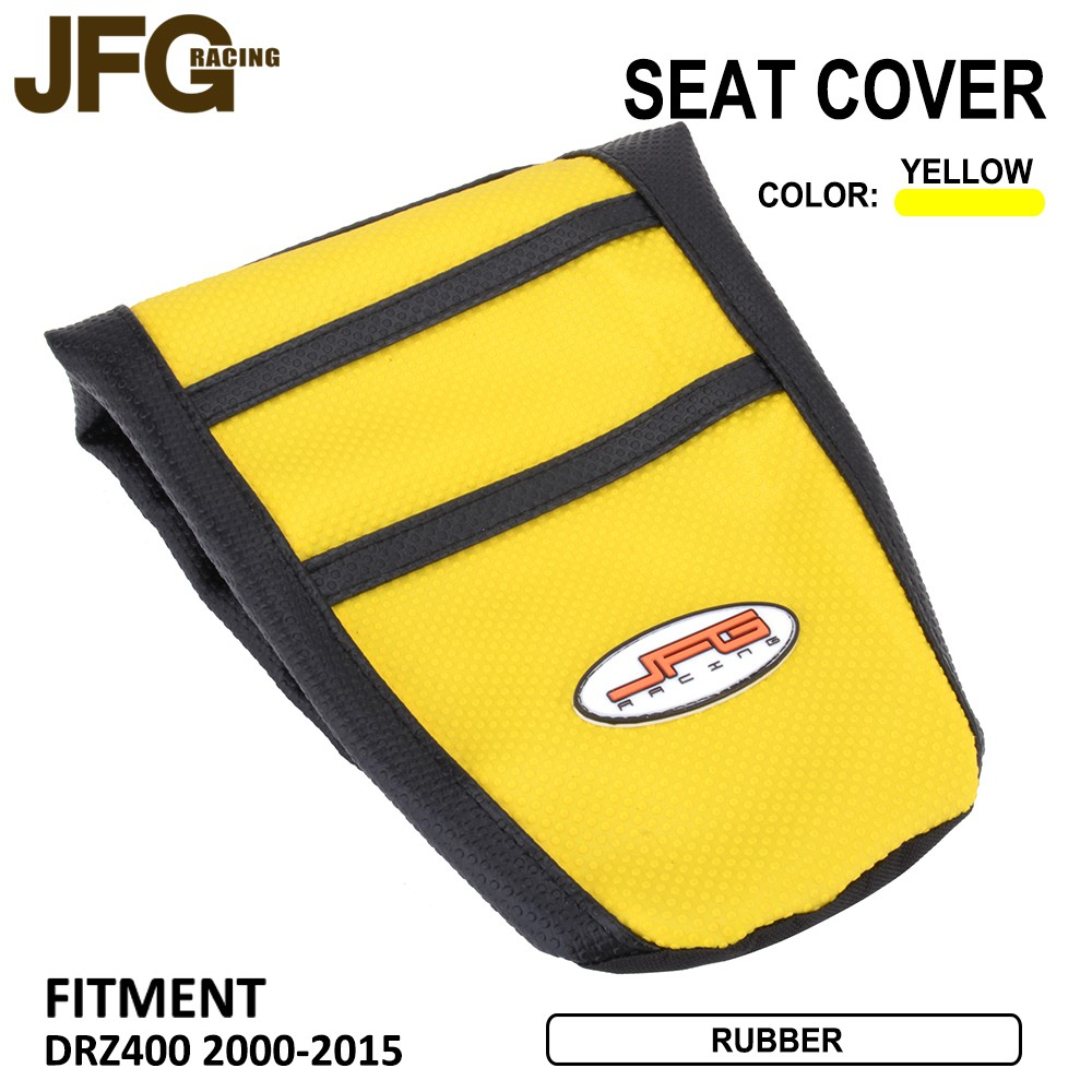 Marvelous Ready Stock Yellow Ribbed Gripper Red Soft Seat Cover For Suzuki Drz400 Drz 400 2000 2015 Cjindustries Chair Design For Home Cjindustriesco
