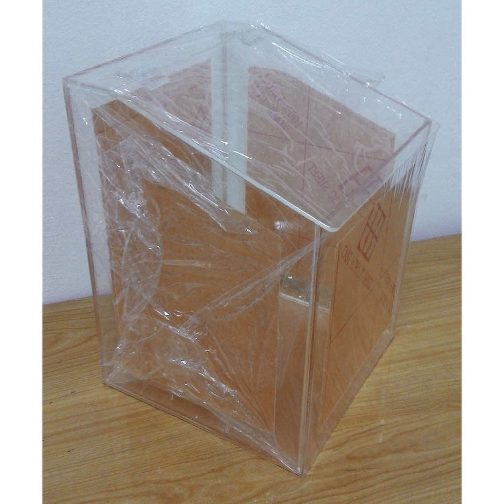 One Column High 8 x 8 x 8in Acrylic Candy Box, Food, Biscuit Box