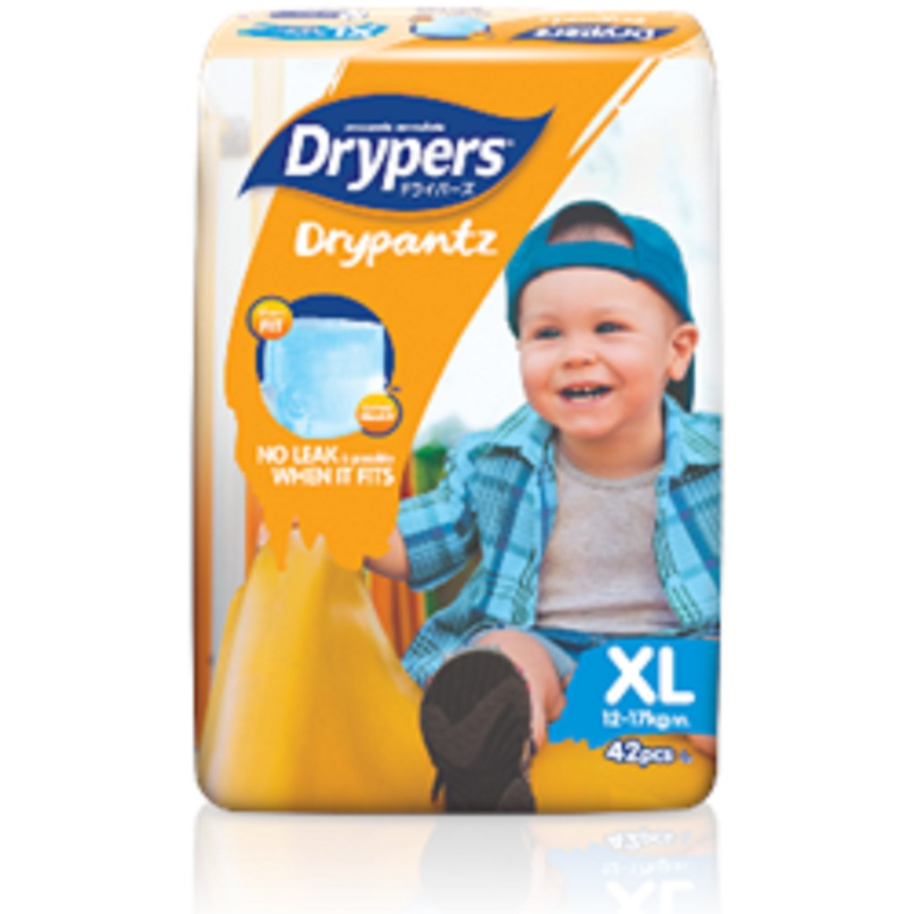 Drypers Drypantz XL42 Twin Pack (84's)