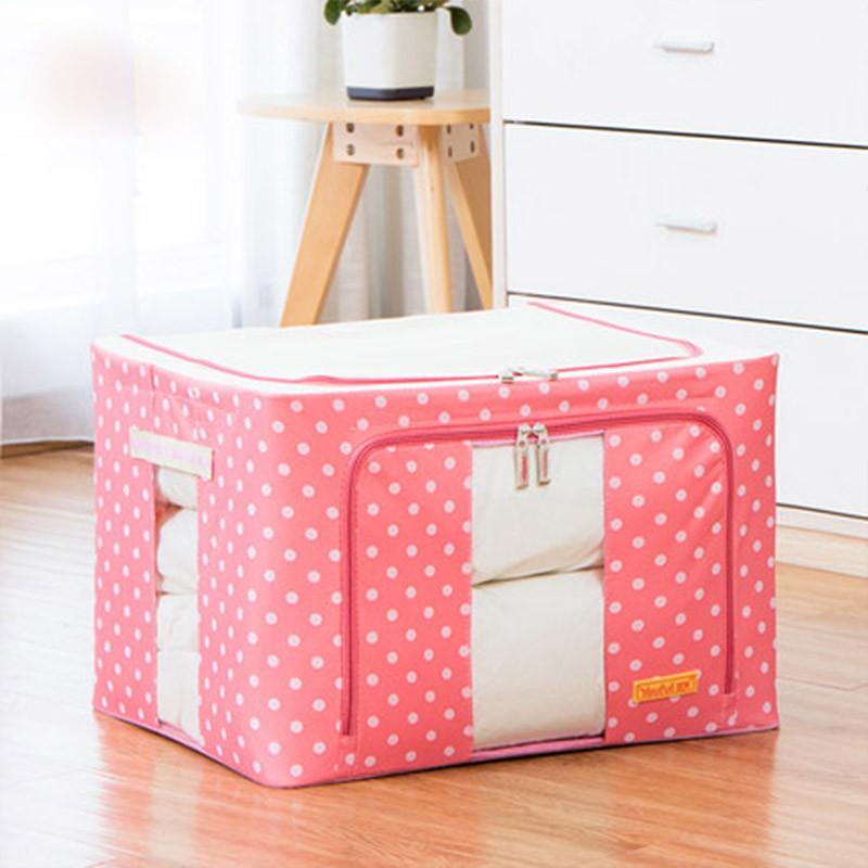Storage Box - 66L (Pink)