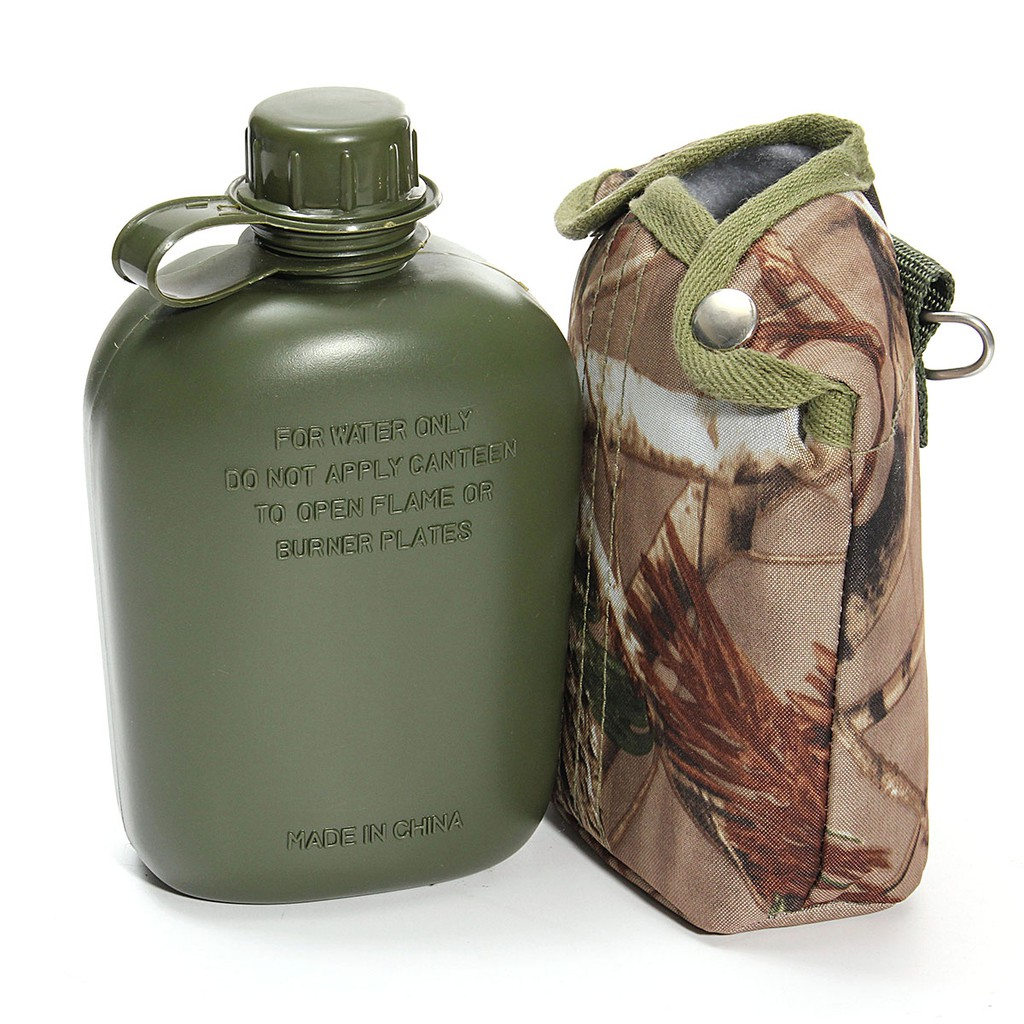 1.5L Army Drinking Flask Water Bottle Chinese Military Canteen Camping