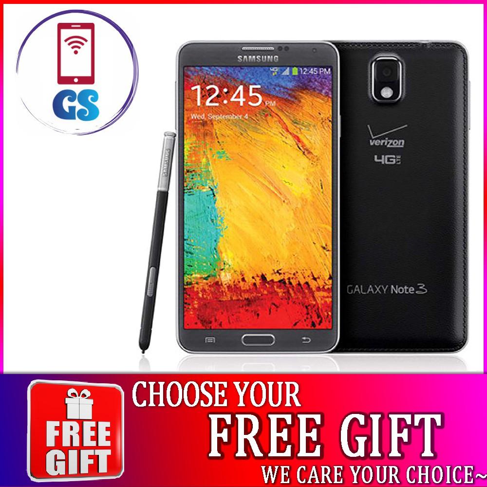 [FREE GIFT] Galaxy Note 3 3GB RAM 32GB ROM (Original New Refurbished)