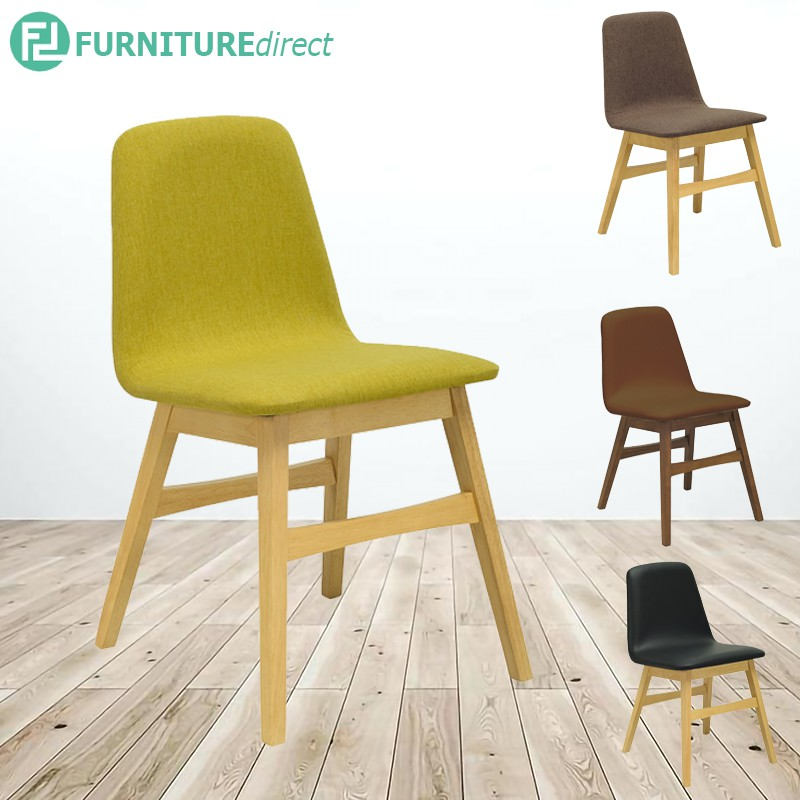 AVICEsolid rubberwood dining chair