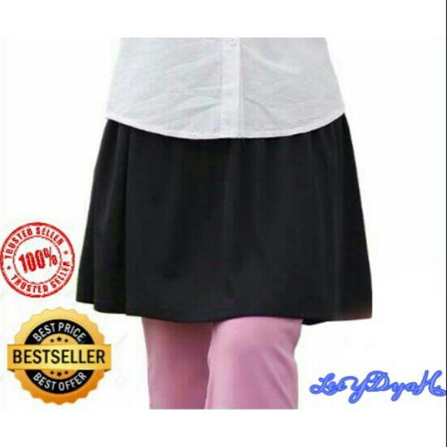 2e68f2d11c28a Mini skirt muslimah pelbagai warna