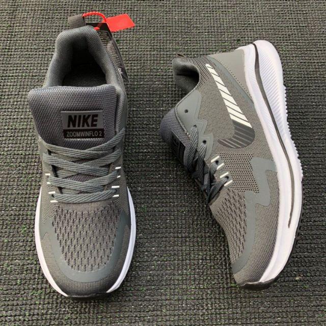 NIKE ZOOM WINFLO 2 RUNNING SHOES (Grey) 5A - 40-44 EURO