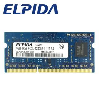 Elpida DDR3 4GB 1600Mhz PC3L-12800S for laptop RAM Memory