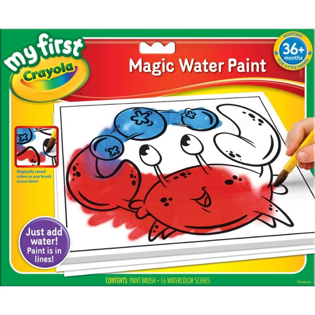 พร้อมส่ง!! Crayola Magic Water Paint