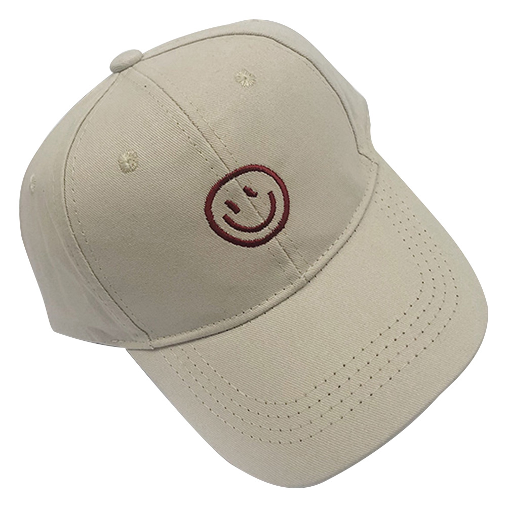 bc1043b79 Children Baby Kids Hat Smiling Face Embroidery Sports Baseball Hat Sun  Protection