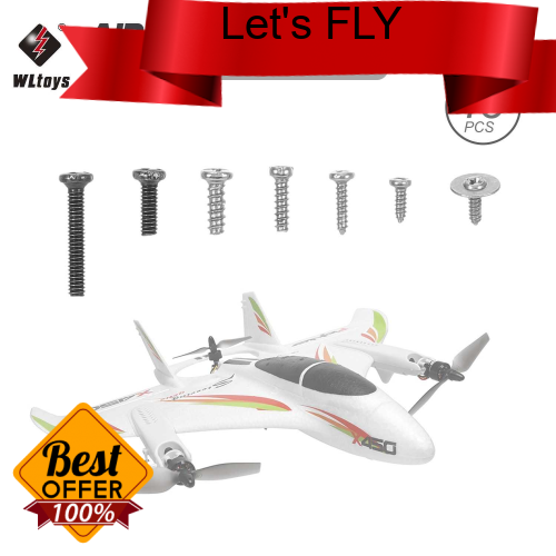 Great Discount WLtoys XK X450 RC Airplane Aircraft Helicopter Fixed Wing Screw Set (Standard)