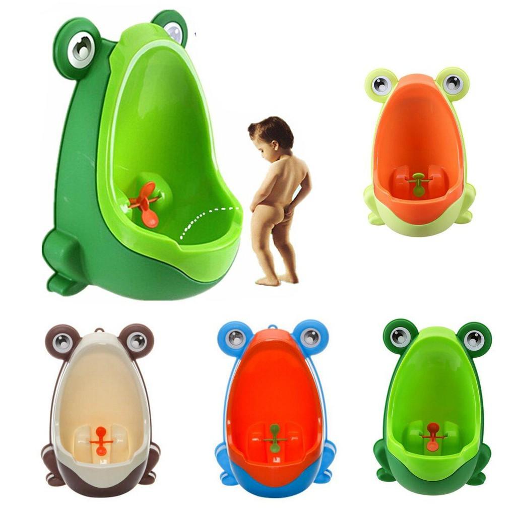 Fashion Frog Boy Baby Toilet Training Children Kids Potty Urinal Pee Trainer Urine Bathroom Accessories Home Decor