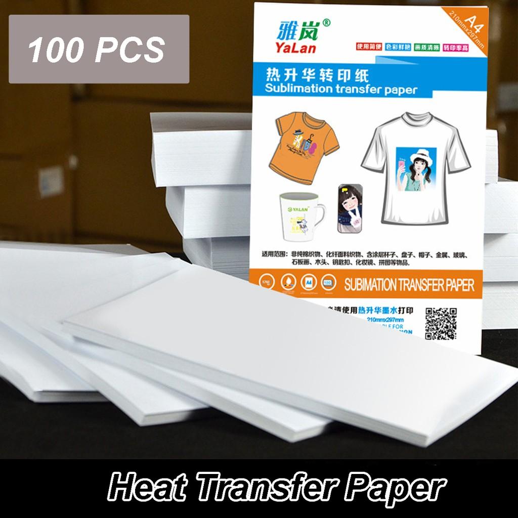 a2c30550 Neenah 3G Jet-Opaque Heat Transfer Paper A4 Size (Dark Paper) Sarawak    Shopee Malaysia