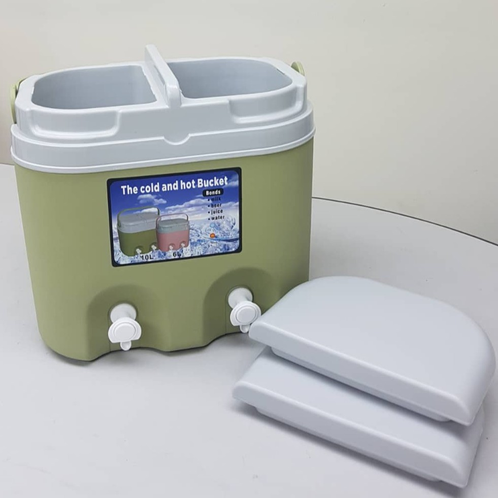 10 Litres Water Cooler / Ice box Thermos Double Compartment