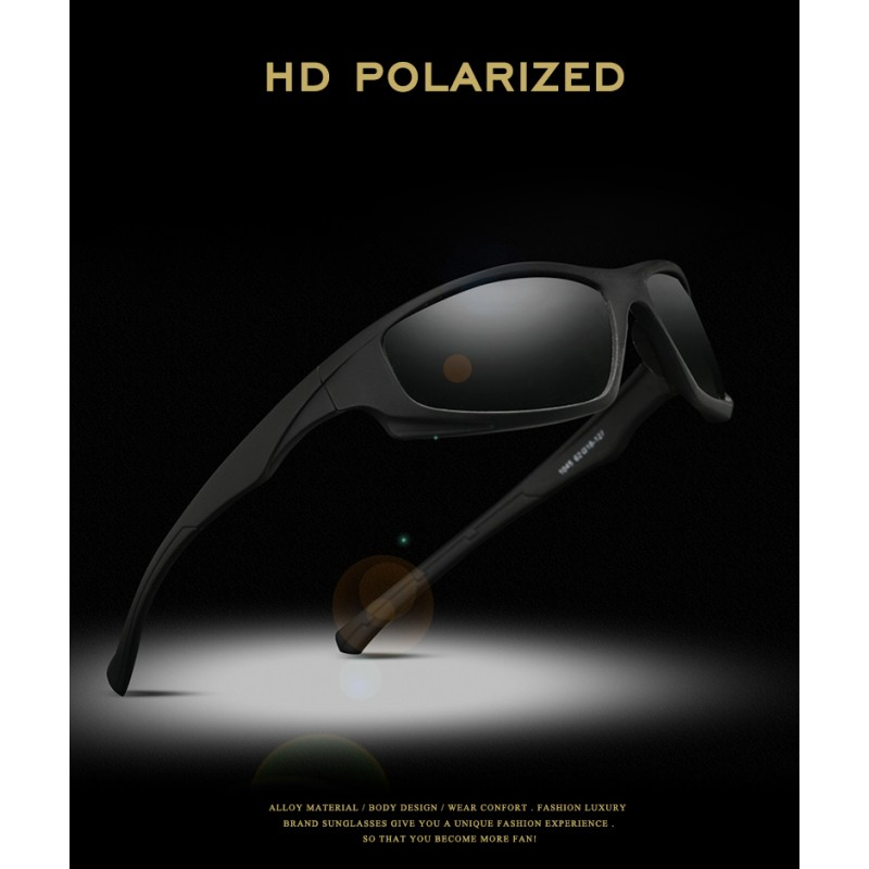 9678dd4a64 Men Outdoor Driving Fishing Transition Lens HD Polarized Photochromic  Sunglasses