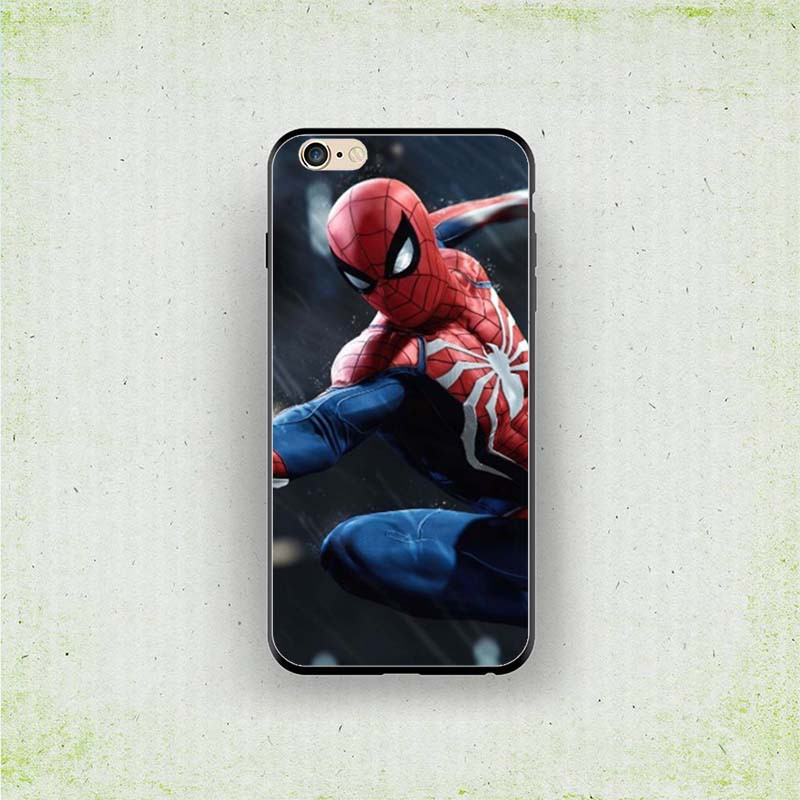 Marvel Spiderman 1080p Hd Wallpaper Iphone 7 8 Xr 6s Soft Case