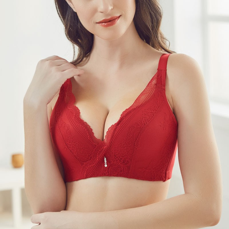 eb73c191744 Sexy Lace Bras for Women Comfort No Wire Bra A B cups Push Up Brassiere
