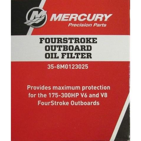 Mercury FourStroke outboard oil filter 35-8M0123025