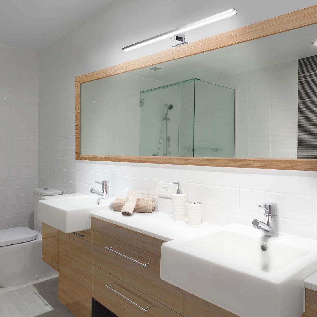 Good Quality 60cm 800lm Led Strip Light Kitchen Cabinets Plinth Desk White Mirror Lamp Ip44