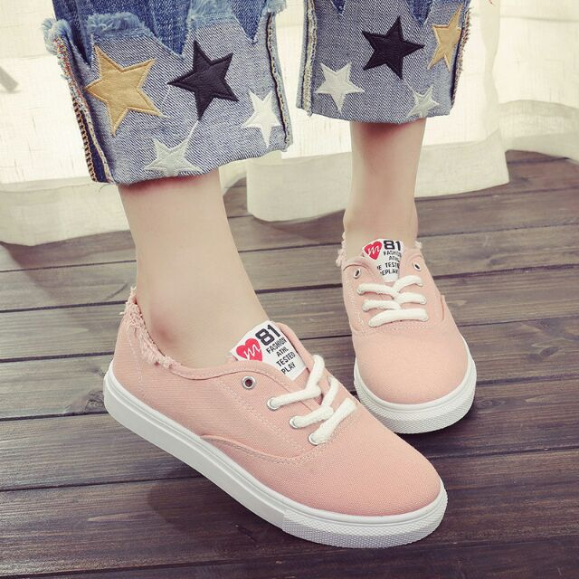 3e35e6dd3d6a73 Korean Fashion Couple Multi Color Converse Inspired Casual High Top Canvas  Shoes