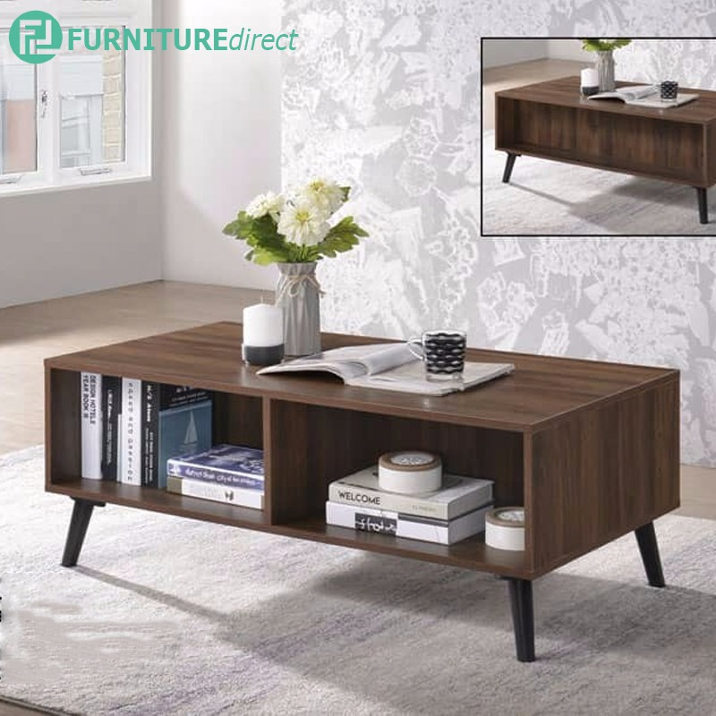 Furniture Direct EDMOND 6ft tv cabinet with coffee table living set