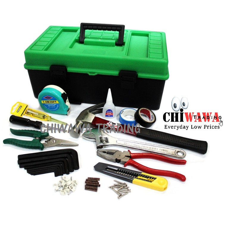 Multipurpose DIY 16 in 1 Hardware Tool Sets / Home & Living Necessary
