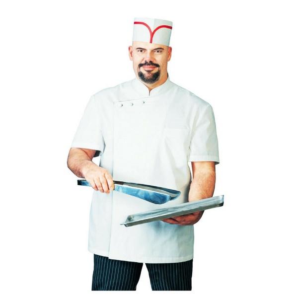 Chef Apparel, Short Sleeve, Cuisiner