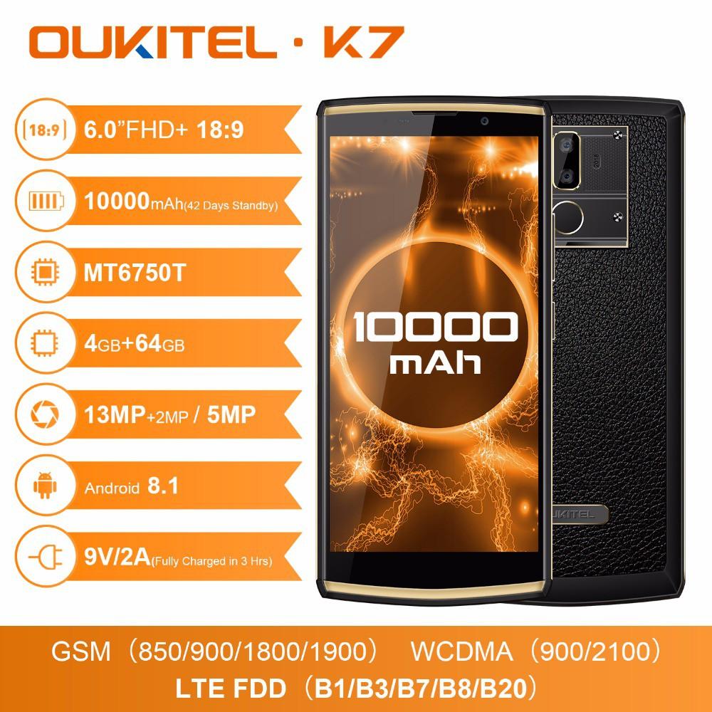 OUKITEL K7 4GB+64 10000mAh 6