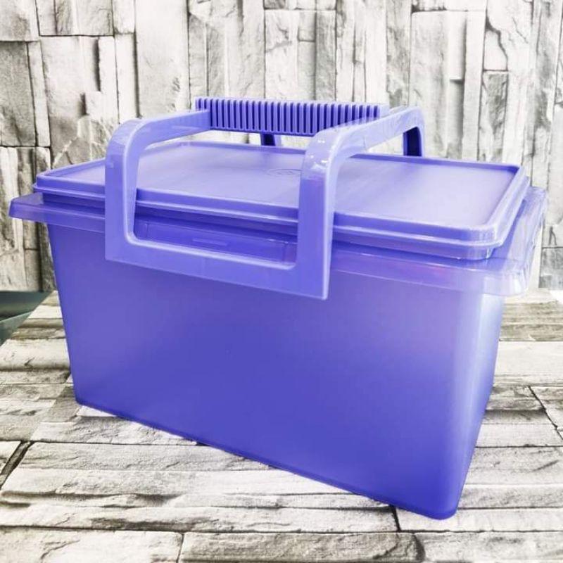 (Raya Promotion) Tupperware buddy keeper 5L @ 10L(purple)
